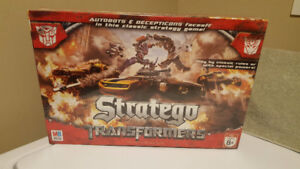 Stratego Transformer Board Game - Year 2007 - Unopened
