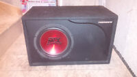"""MTX Thunder 10"""" Sub in a ported box (like new)"""