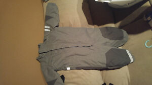12-18 month one piece grey unisex snow suit