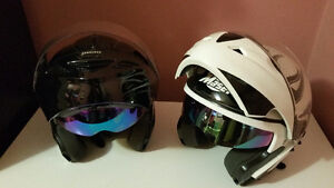 2 Masei Motorcycle Helmets for sale..Great Condition..$180obo..