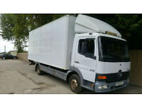 2003 52 Mercedes-Benz Atego 815 BOX 7.5 TONN