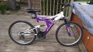 Supercycle girls  Bike Full Suspension 24 inch