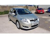 Toyota Auris T Spirit D-4d 5dr DIESEL MANUAL 2008/08