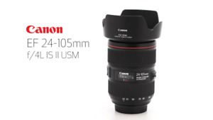 BRAND NEW CANON EF 24-105MM F/4L IS II USM LENS