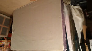 Queen size box spring / decent shape /. 72 in X 60 in