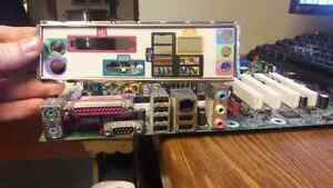 ATX Motherboard with Compatible RAM, I/O shield and Coolers Cambridge Kitchener Area image 3