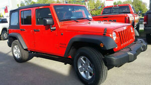 2016 Jeep Wrangler sport unlimited