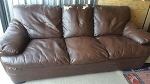 faux leather couch and loveseat delivery included