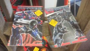 2007 Transformers Movie Prequel & Adaptation Comic Books