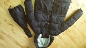 Manteau hiver maternité Thyme large avec extension
