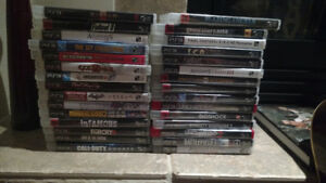 Selling all my ps3 games