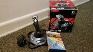 Logitech Extreme 3D Pro Joystick WITH Microsoft Flight Simulator