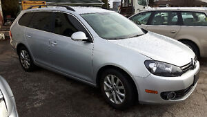 2013 Volkswagen Golf TDI Highline Wagon