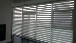 ZEBRA , SILHOUETTES,FAUX WOOD BLINDS AND VERTICAL BLINDS ON SALE