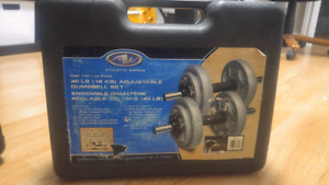 Dumbbell Adjustable Set