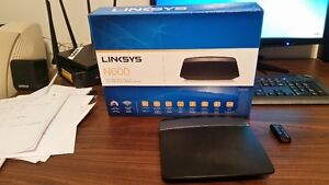 LINKSYS N600 DUAL BAND WI-FI ROUTER