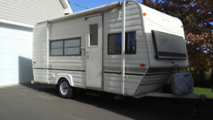 Lightweight Travel Trailer Less than 2000 lb