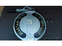 Steering wheel security lock