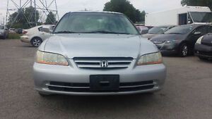 2002 honda accord used car for low price ***SAFETY&E-TEST***2649