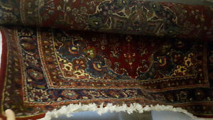 Authentic Persian Rug.
