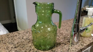 Juice pitcher, retro