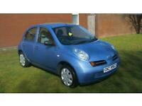 2005 Nissan Micra 1.5dCi S RARE DIESEL 70MPG IDEAL CHEAP RUNNER PX WELCOME
