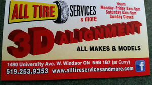 $$$ Best price in town on new tires and used tires available $$$ Windsor Region Ontario image 8