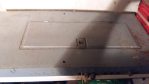 Electric panel 200amps with breakers