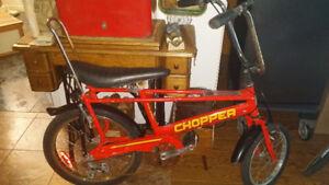 Velo Raleigh Chopper à vendre Avec un style rétro des années 70