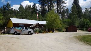 Retail Space in The Slocan Valley along popular tourism route