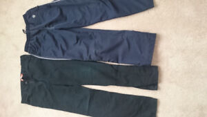 Boys' jeans and track pants