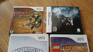 8 wii games plus 3 wii portal for skylander FOR $120