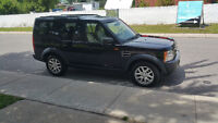 2007 Land Rover LR3 Black SUV, Crossover