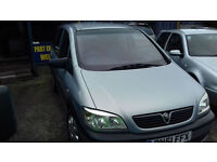 2001 Vauxhall Zafira 1.6i 16v mpv ( NOW £995 ono )