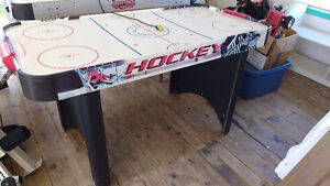 Two Air Hockey Tables ($15.00 & $35.00)