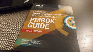 PMBOK guide - 6th edition