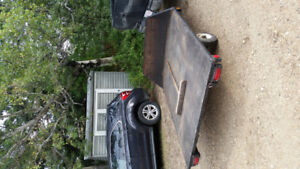 Utility trailer 6x10 great shape new lights and reflectors.