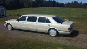 1987 Mercedes Stretched Limo
