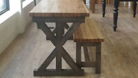 New custom dining tables/ harvest tables & benches