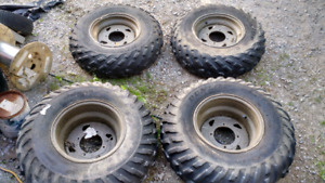 Kawasaki atv rims/tires