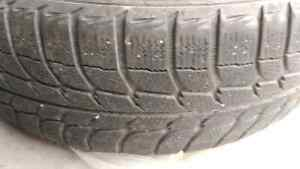 225 70  R16 Michelin winter tire x 4