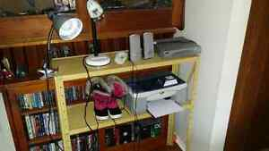 Desk lights speakers dvd printer boots or make offers Belleville Belleville Area image 1
