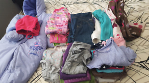 24 month girl clothes lot