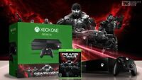 xbox one neuf et seller edition gear of wars
