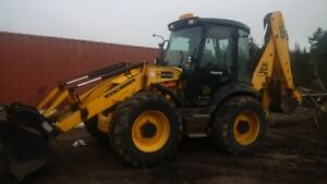 2010 JCB 4CX14EC Backhoe Loader (with snow pusher)