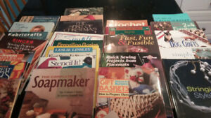 New Crafting Books  For Sale