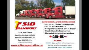 Class 1 Truck Driver for California