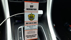 2 VIP PASSES FOR THE MX MOTORCROSS NATIONALS THIS WEEKEND