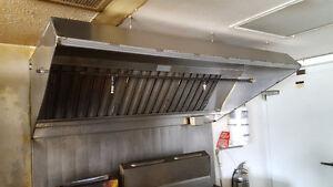 Restaurant overhead hood vent
