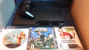 Playstation 3 Bundle With 3 Games asking only $175